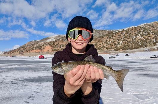 Ice Fishing near Park City