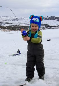 Ice Fishing near Park City